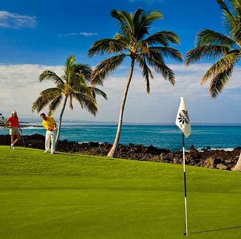 Beach Course offers breathtaking ocean views and challenging play