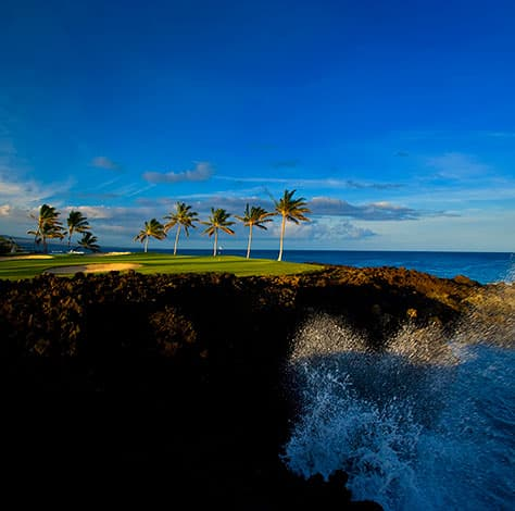 Stunning oceanfront hole on Beach Course