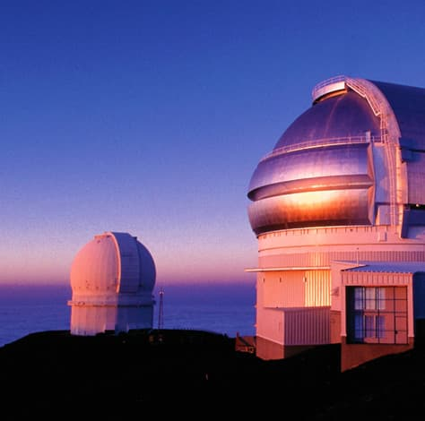 World class observatories on Mauna Kea
