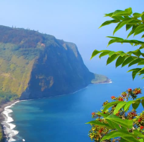 Waipio Valley from the lookout point