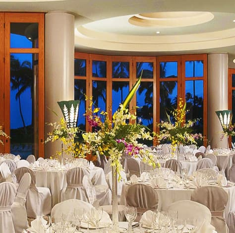 Weddings at Hilton Waikoloa Village
