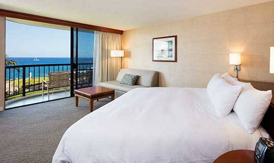 Ocean Tower King Bed